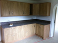 New worksurfaces and cupboards